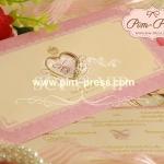 การ์ดแต่งงานเคทอง/เงิน(9-0221,9-0226)