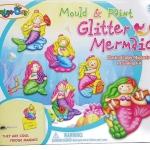 DI047 Mould & Paint mermaid Magnets ชุดปูนพลาเตอร์ พร้อมแม่พิมพ์ และ ระบายสี ที่ติดตู้เย็น