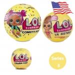 LA026-1 (งานแท้) L.O.L Surprise Series 3 เซ็ท ตุ๊กตาเซอร์ไพร์ส