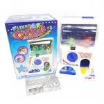 ZZ008 ตู้หมุน กาชาปอง ตู้หมุนไข่ ของเล่น มีเสียงและไฟ พร้อมลูกบอล และ เหรียญ