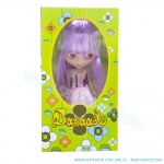 BR007 ตุ๊กตา บลายธ์ Blythe คละแบบ 1 เซ็ท ผมสีม่วง