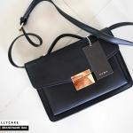 กระเป๋า ZARA HANDBAG CLASSIC DETAIL หนังเรียบ ทรงสวย ชนชอปยุโรป 2018