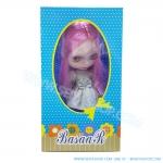 BR004 ตุ๊กตา บลายธ์ Blythe คละแบบ 1 เซ็ท ผมสีชมพู