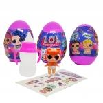 LO077 L.O.L Egg Surprise Sister แพ๊ค 3 ลูก (คละแบบ)