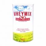 wheymixx เวย์มิกซ์ เวย์โปรตีน สร้างกล้ามเนื้อ ลดน้ำหนัก เพิ่มน้ำหนีก ทานได้ทั้งเด็กและสตรีตั้งครรภ์ (รสสตอเบอรี่า)