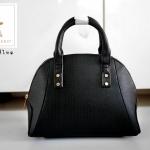 กระเป๋าถือ Atmosphere Leather Satchel Handbag หนัง Saffiano