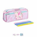 SMP078 กล่องดินสอ smiggle Diy Lets Go Pencil Case