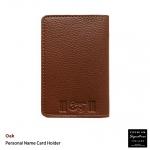 Oak(น้ำตาลอ่อน) - Personal Name Card Holder