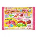 M155 ขนมญี่ปุ่น DIY ของเล่นกินได้ Playing House Kitchen Gummy