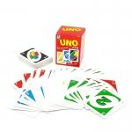 BO177 UNO อูโน่เกมต่อสีและตัวเลข MINI5.5 cm