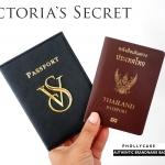 กระเป๋าพาสปอร์ต Victoria's Secret Passport Covers แท้ ใส่เอกสาร