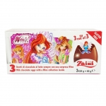 SU073 Chocolate Egg Surprise ไข่ เซอร์ไพร์ส ช๊อคโกแล๊ค พร้อมของเล่นสุดฮิต-Winx Club