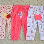 ไซส์ 12-18 เดือน กางเกงขายาวเด็ก แพ็ค 3 ตัว