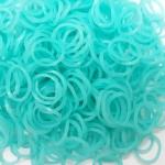 ยาง Premium Grade เรืองแสง (ฟ้า) 300 เส้น / Premium Grade Rubber loom (Blue)