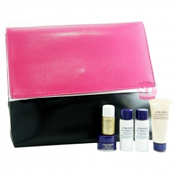 Shiseido Vital Perfection with Pink Pouch (Travel Size)