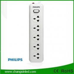รางปลั๊กไฟ Philips 5 ช่อง 1 สวิตช์ สายยาว 2 เมตร