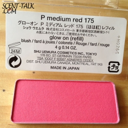Shu Uemura Glow on blush/refill #P medium red 175
