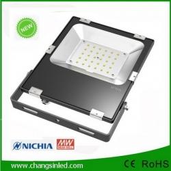 โคมสปอร์ตไลท์ Slim LED Flood Light GEN.3 30W