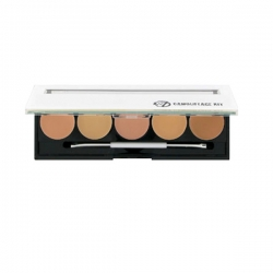 W7 Camouflage Kit Cream Concealer Palette 5 shades in 1