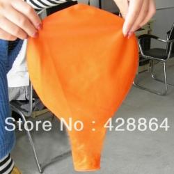 ลูกโป่งจัมโบ้-สีส้ม-ขนาด-36-นิ้ว-round-jumbo-balloon-orange