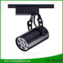 โคมไฟ LED Track Light 7W เป็นชุดโคมไฟใช้กับรางไฟ โคมสีดํา