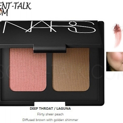 NARS blush/brozer duo #Deep Throat/Laguna (Box)
