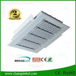 โคมไฟ LED Canopy Light 150-180W สำหรับใช้ในปั๊มน้ำมันและอื่นๆ