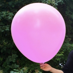 ลูกโป่งจัมโบ้-สีชมพู-ขนาด-36-นิ้ว-round-jumbo-balloon