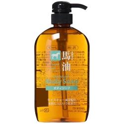 Kumano Yushi Horse Oil Moisture Body Soap 600 ml - สบู่เหลวอาบน้ำน้ำมันม้า จากประเทศญี่ปุ่น