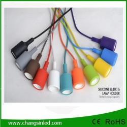 ฐานโคมไฟติดเพดาน Modern E27 Ceiling Pendant Lamp Light Bulb Holder