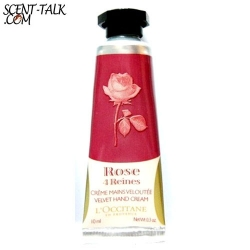 Loccitane hand cream rose 10ml.