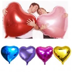 ลูกโป่งฟอยล์-หัวใจ-heart-shape-foil-balloons 36 นิ้ว