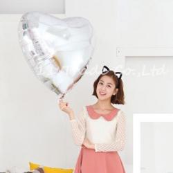 ลูกโป่งฟอยล์-หัวใจ-heart-shape-foil-balloons 24 นิ้ว