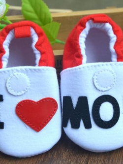 ไซส์ 12 ซม. รองเท้าหัดเด็กแบบผ้านุ่ม ใส่สบาย มีกันลื่น