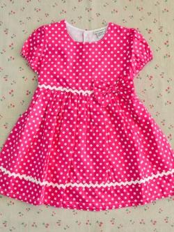 ไซส์ 4 ปี Laura Ashley ชุดกระโปรงเด็กผู้หญิง - สีชมพู