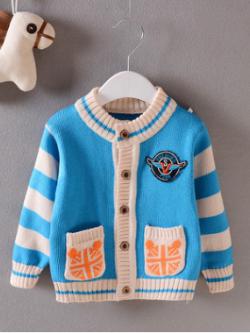 ไซส์ 9-12 เดือน 2-3 ปี เสื้อกันหนาวเด็กไหมพรม