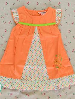 ไซส์ 3-6 เดือน mom famille ชุดเสื้อผ้าเด็กผู้หญิง