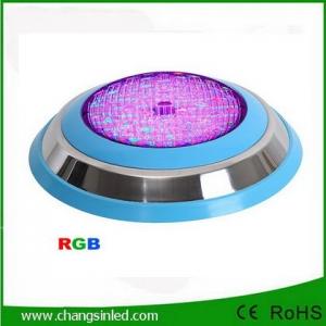 โคมไฟสระว่ายน้ำ Swimming Pool LED Light แสง RGB สแตนเลส 18W