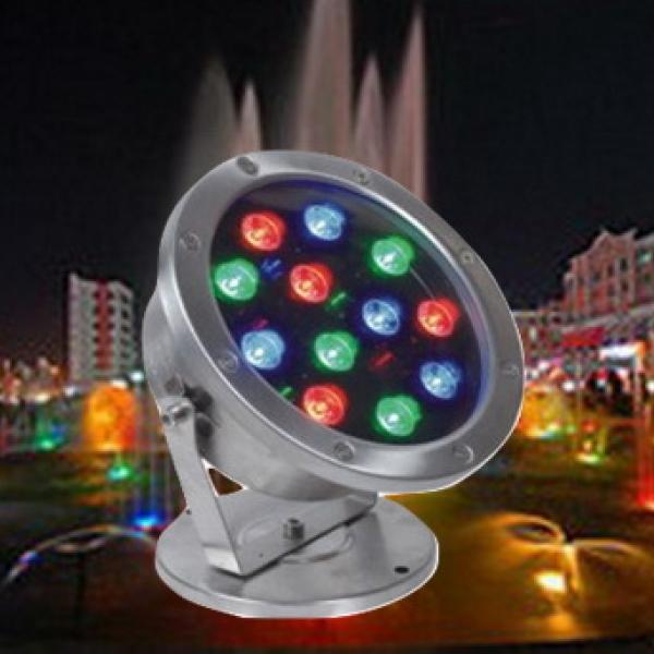 โคมไฟ LED ใต้นํ้า RGB
