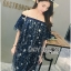Lady Sophia Playful Chic Off-Shouldered Sparkling Stars Tulle Dress L257-69C11 thumbnail 4