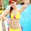 SM-V1-304 ชุดว่ายน้ำแฟชั่น คนอ้วน เด็ก ดารา thumbnail 6