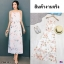 Maxi Dress สายเดี่ยวผ้าชีฟอง พิมพ์ลายดอกไม้ thumbnail 1