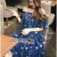 Lady Sophia Playful Chic Off-Shouldered Sparkling Stars Tulle Dress L257-69C11 thumbnail 15