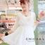 V neck sleev mini dress C170-63A02 thumbnail 2