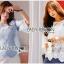 Lady Kristin Vintage Feminine Pastel Lace Blouse L267-6917 thumbnail 2