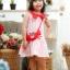 Lovely Crab Dress ชุดเดรสเด็กสีแดง thumbnail 2