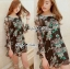 DR-LR-245 Lady Daria Beachy Blossom Print Chiffon Mini Dress thumbnail 4