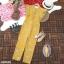 จั้มสูทขายาวผ้าซาร่าพิมพ์ลายดอกไม้ thumbnail 2