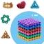 ZZ005 bucky ball cube แม่เหล็กแรงสูง สารพัดนึก ขนาด 5 mm ชุด 216 ชิ้น thumbnail 1