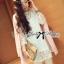 DR-LR-110 Lady Melanie Elegant Camelia White Organza Dress thumbnail 11